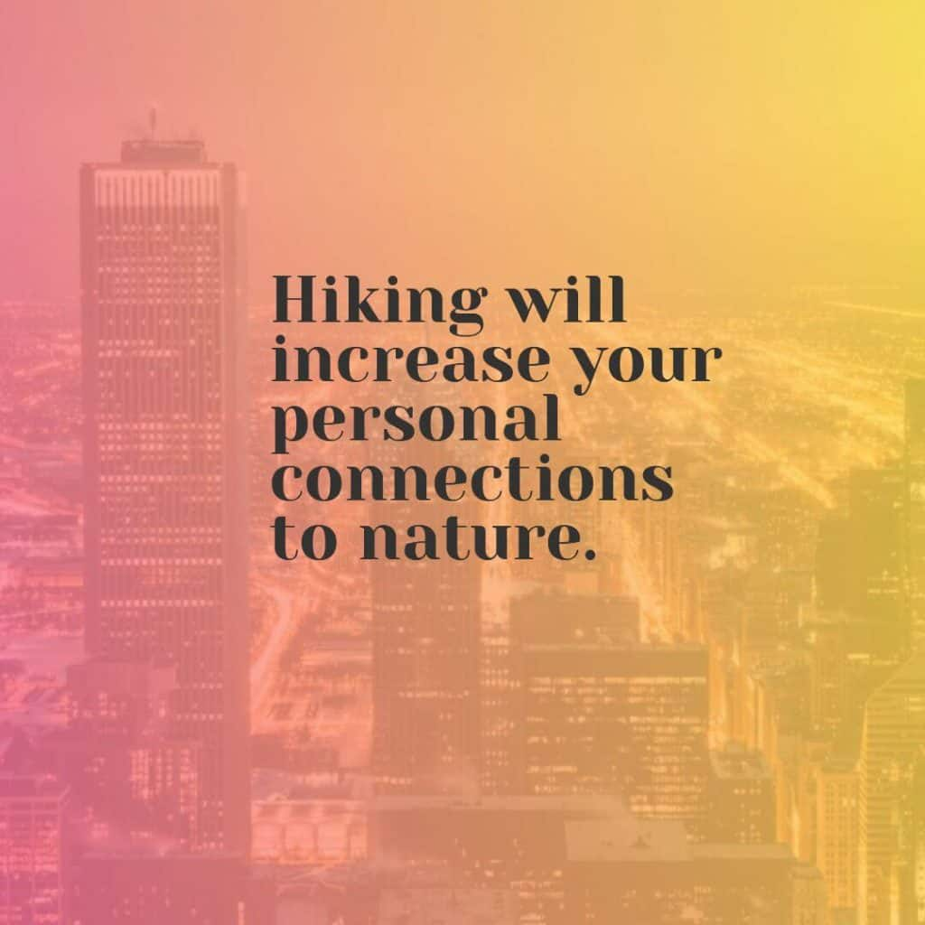 Hiking Facts - Connections