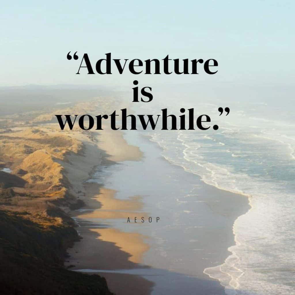 Hiking Quote - Aesop