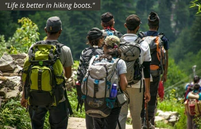 Life is better in hiking boots