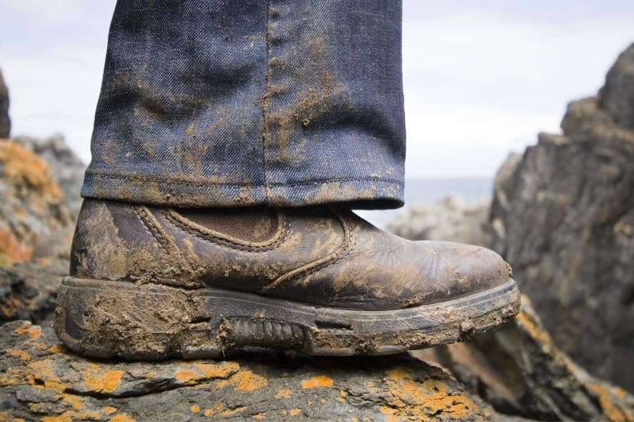 Dirty Blundstone Boots